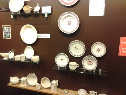 More plates were hung by Mark and Michael McCraren on Sunday - Photo by Mark Gellman