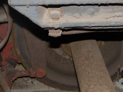 Another view of the installed brake beam - Photo by Brian LaKemper