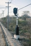 Signal 91 Westbound. US&S N-2, CNS&M RR