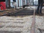 New track raised/ leveled/ lined