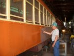 Highlight for Album: VARIOUS WORK IN PROGRESS PHOTOS,OTHER THAN FREIGHT CARS, AROUND THE IRM.