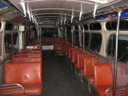 Now unloaded, the interior of 181 - 10/31/2009
