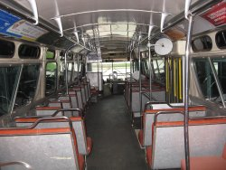 The interior looking toward the front of the coach - 10/31/2009