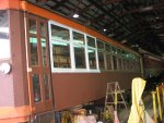 Refinishing window frames
