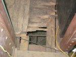 Interior cab floor and sub-floor repairs begin