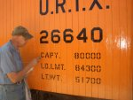 07.29.09 - BOB KUTELLA IS APPLYING MORE RAILCAR WEIGHT AND CAPACITY INFORMATION.