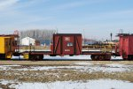 One of my favorite caboose restorations we have. Kudos to the freight car dept on this