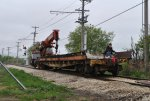 Work train at East Switch 5-14-11