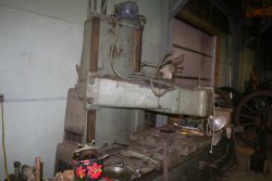 Planer being refurbished