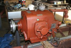 Planer pump now ready to reinstall