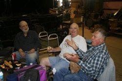 Bill and Glenn visit the shop