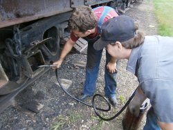 Brian and Cameron add new oil