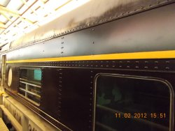 Yellow strip applied to IC 3345 11-02-12