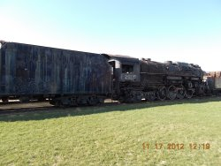 C&O 2707  Full view...Outside storage has not helped its condition! 11-21-12