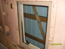 Installed window for the 6-3 Pullman sleeper.. Feb 2012