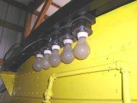 Rebuilt work light cluster