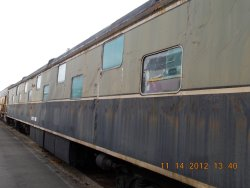 CN Ingramport  24 duplex roomette, very rare Sitting in yard 5 with broken exterior windows On the plan for inside storage Barn14 Need Donations 11-21-12