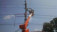 Max Tyms testing new transformer feeding signal 202