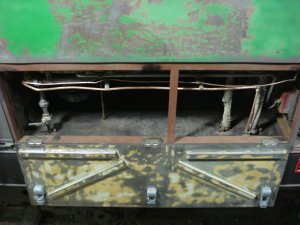 Under the cab cleaned for primer, 04-12-08