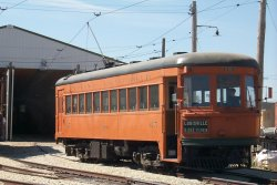 The car that started it all - Indiana Railroad 65 on Member's Day 2000.