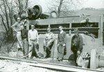 1963 - George Clark, Bob Bruneau, Bob Rayunec, Ray Neuhaus, Ken Stendler, Ed Mizerocki