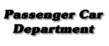 Passenger Car Department