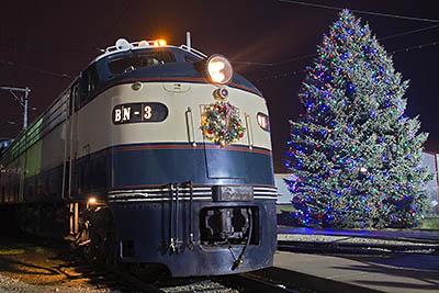 Happy Holiday Railway at the Illinois Railway Museum